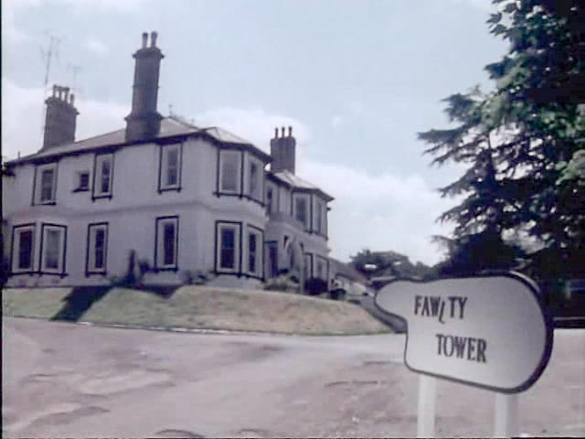 Guide To The Fawlty Towers Sign S Letters In Each