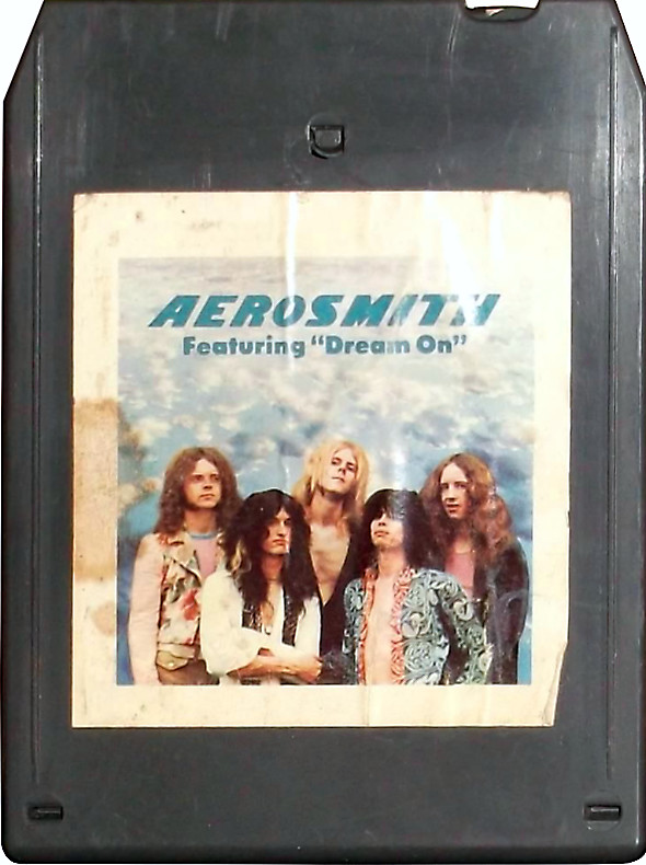 Aerosmith's first album on 8-track tape