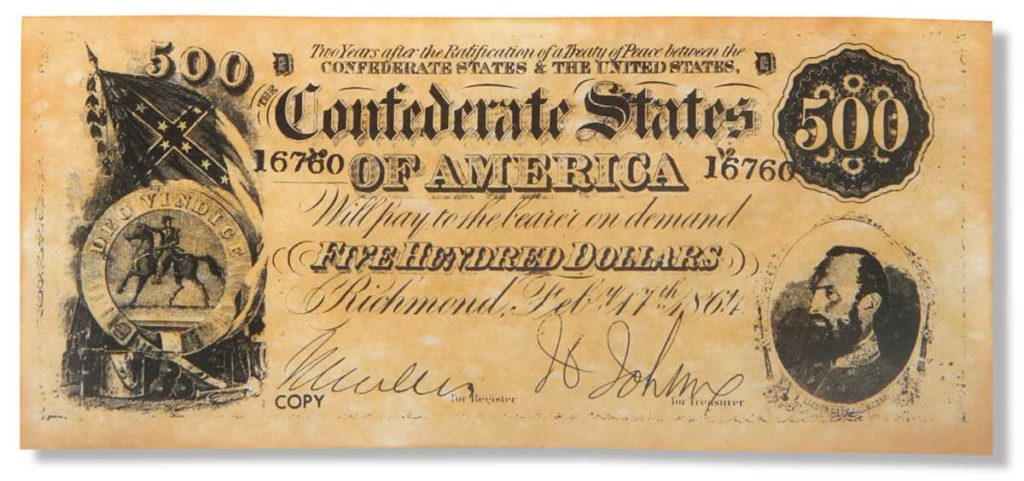Confederate Money: Collecting Amazing Civil War Currency