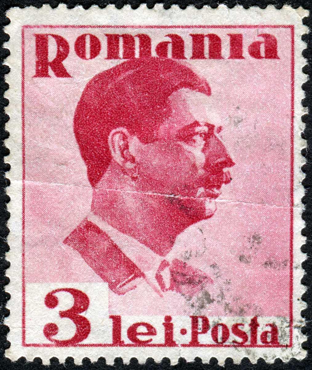 posta romana stamps of romania collecting lei and bani