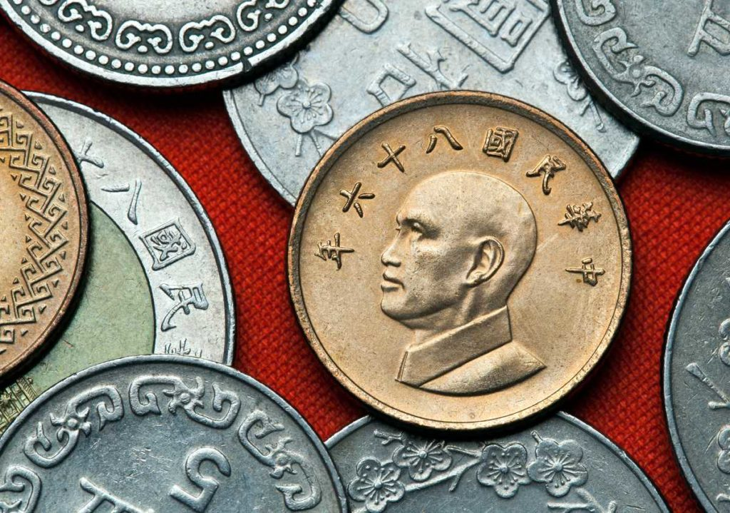 Taiwan rare coins for collectors and other buyers
